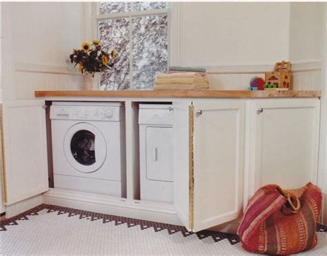 Kitchen Cabinet Washing Machine by Cover Up Your Washing Machine Amazing Washing Machine