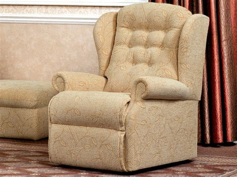 Small Fabric Armchair by Lynton Small Fabric Armchair By Sherborne Upholstery