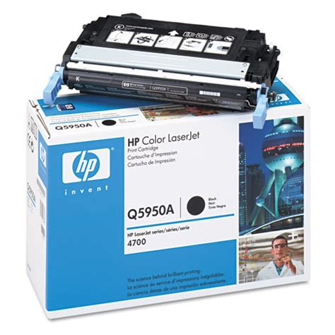 Toner Q5950a hp 643a q5950a black toner cartridge