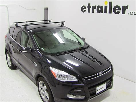 Roof Rack 2013 Ford Escape yakima roof rack for 2013 ford escape etrailer