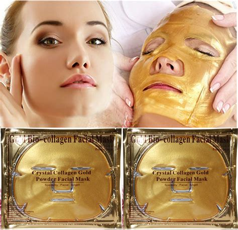 Masker Topeng Gold Bio Collagen Mask gold bio collagen mask mask gold powder collagen mask moisturizing
