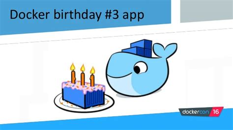 docker birthday tutorial docker birthday app infrastructure by alexandru giurgiu