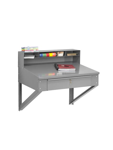 Wall Hanging Computer Desk Tennsco Storage Made Easy Wall Hanging Foreman S Desk