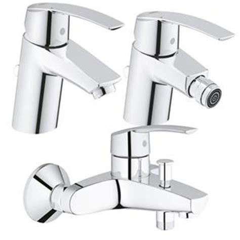 rubinetteria bagno grohe prezzi grohe start rubinetteria da bagno serie completa con