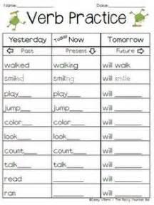 past present future tense grammar bleck