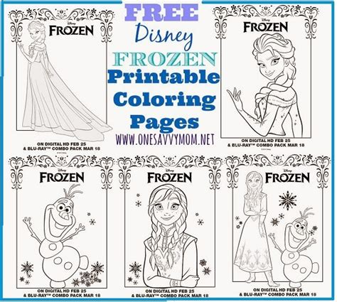 frozen mini coloring pages one savvy nyc area disney frozen free