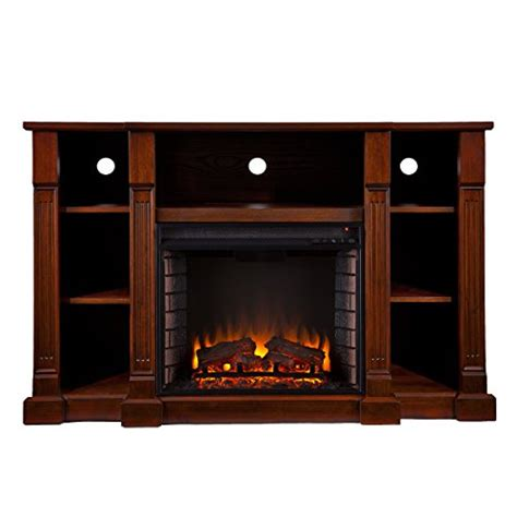 Sei Electric Fireplace by Sei Amz6839e Kendall Electric Media Fireplace Espresso