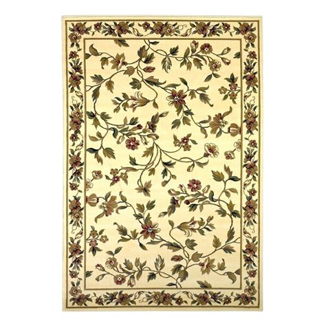 7 Ft Rugs by Kas Rugs Classic Trellis Ivory 7 Ft 7 In X 10 Ft 10 In