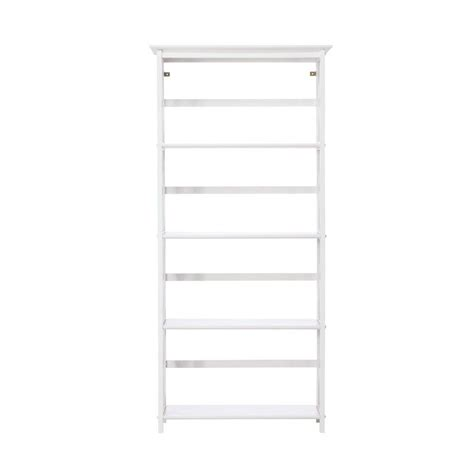 home decorators bookcase home decorators collection montego white open bookcase