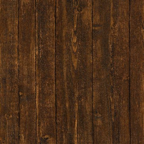 faux wood paneling brewster ardennes faux dark brown wood panel wallpaper 412