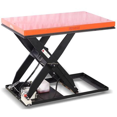 scissor lift platform table 1500kg static scissor lift platform elf15a 36x48