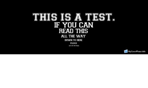 this is a test if you can read this all the way down to