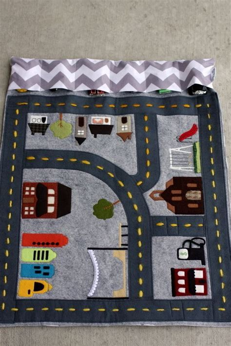 Car Mat Play by Now If Only I Was Talented And Could Make These