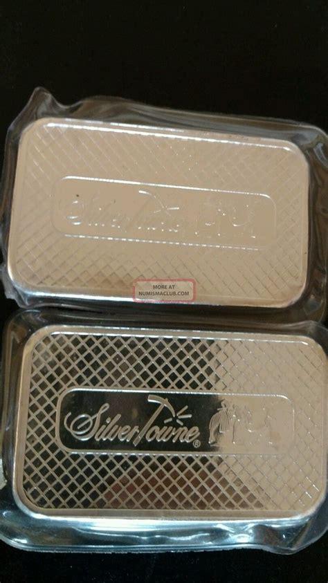 1 Oz 999 Silver Bar Silvertowne - 5 oz silvertowne silver bar 999