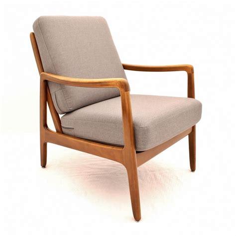 danish chair design danish design beech fd109 lounge chair in silver grey