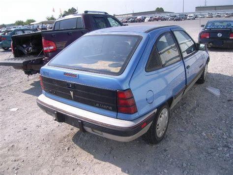 pontiac lemans 1990 pontiac lemans 1 6l 4 blue used of the 1990 at 35814 al