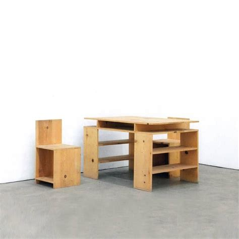 Donald Judd Desk by Desk Set By Donald Judd For Sale At 1stdibs