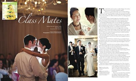 wedding magazine album jonetsu in real weddings magazine traelach