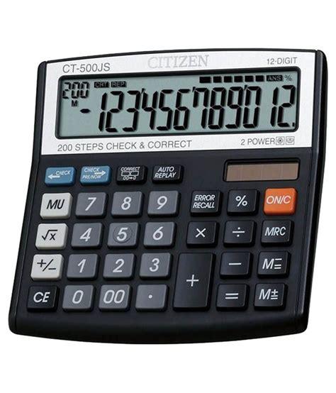 calculator citizen citizen ct 500 js basic calculator buy online best