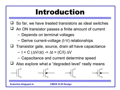 mos capacitor in vlsi design introduction to coms vlsi design