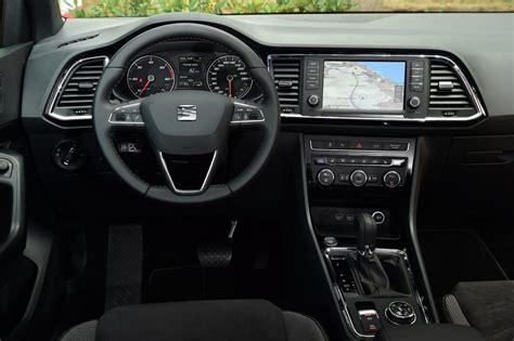 seat ateca interior seat ateca 2016 review pictures auto express