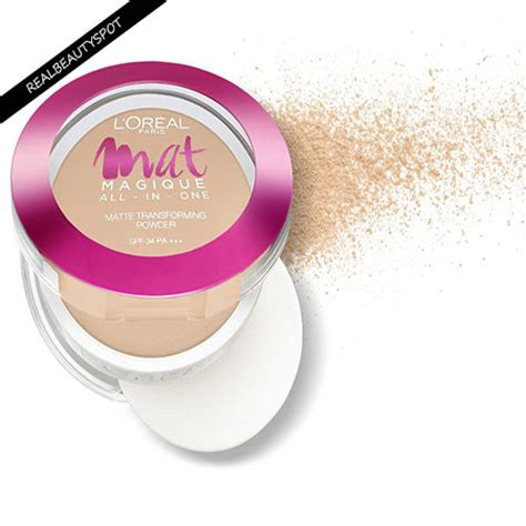 Harga L Oreal Mat Magique All In One by L Oreal Mat Magique All In One Pressed Powder