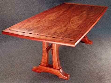 dining table koa wood dining table