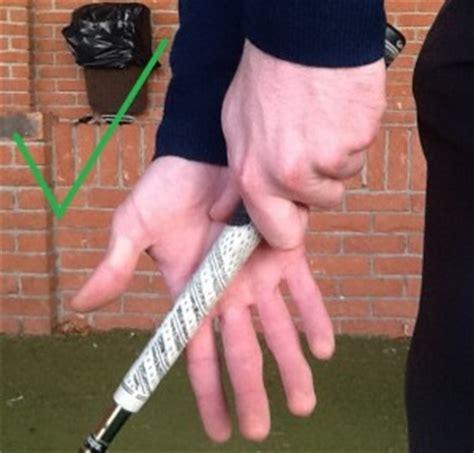 golf swing grip pressure grip pressure points and power stephen packer pga
