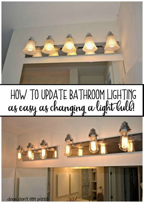Update Bathroom Lighting Best 25 Rustic Bathroom Lighting Ideas On Rustic Vanity Lights Jar Lighting