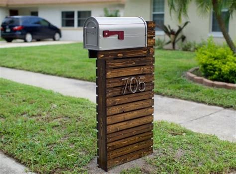 diy mailbox they thought their mailbox was boring they did this