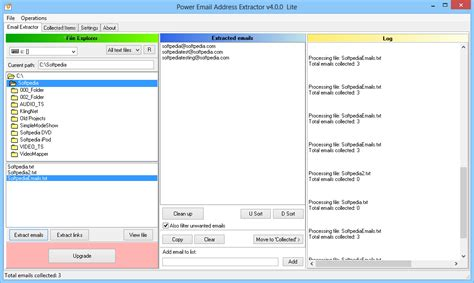 email extractor email extractor lite 1 4