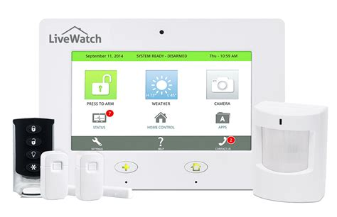livewatch expert home security