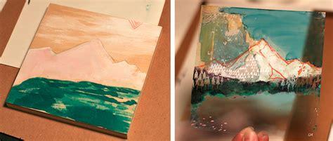 Habit Of Art Painting On Plastic Film