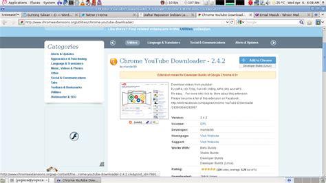 download youtube google chrome menambahkan youtube video downloader di google chrome