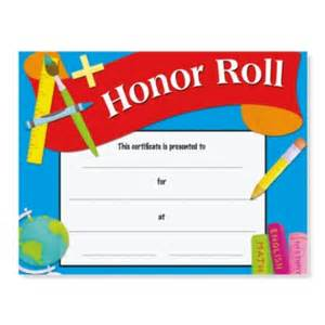 free honor roll certificate template honor roll award casual certificates paperdirect