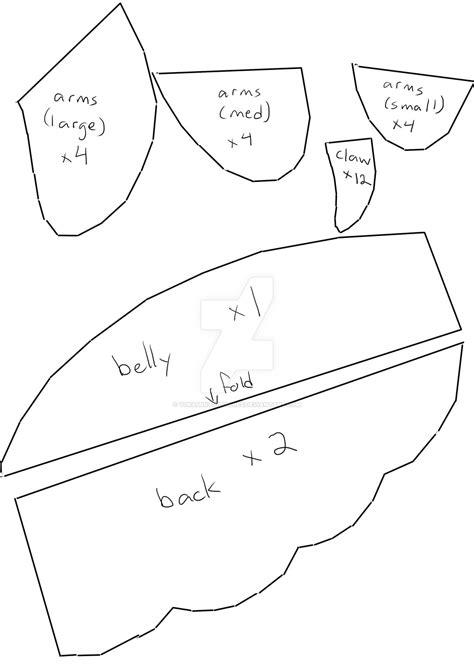 Pattern Parts Net Review   troll grub pattern part 1 by yukamina plushies on deviantart