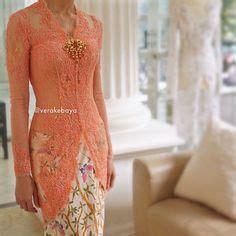 Kain Batik Encim 093 pretty dusty pink kebaya by house of vera kebaya house dusty pink and the