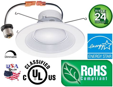 recessed led retrofit light trim downlight trim 12 pack 5 6 inch 16w led recessed dimmable