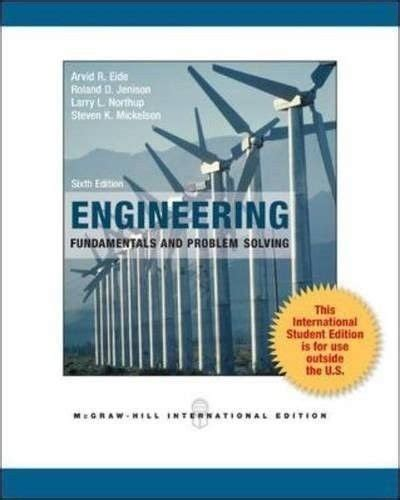 engineering books free ebook ebook engineering fundamentals and problem solving free