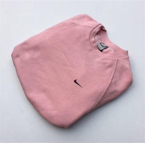 Retro Red Kitchen Chairs Sweater Pink Nike Vintage Crewneck Jumper Pink