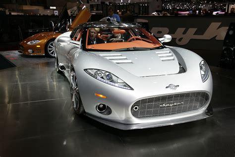 spyker to begin selling sports cars at saab showrooms