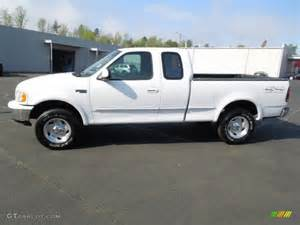 oxford white 1997 ford f150 xlt extended cab 4x4 exterior