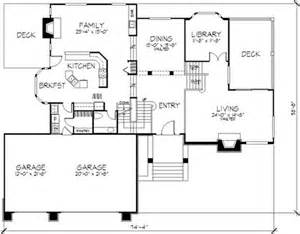 Multi Level Floor Plans multi level house plans country house plans 1 1 2 story house plans