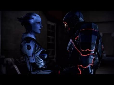 mass effect 3 romance scene liara youtube mass effect 3 romance scene liara second love scene