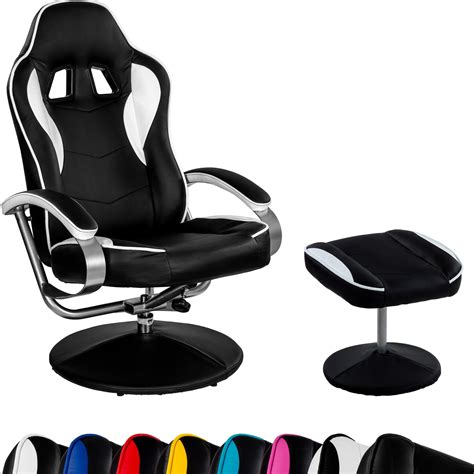 tv chair with ottoman racing tv chair relax racer gt with footrest gaming tv