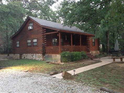 Cabin In Oklahoma by Cabin At Lake Murray Oklahoma Vrbo