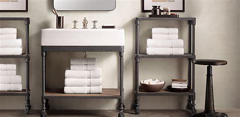 Dutch Industrial Bath Collection   Weathered Zinc   RH