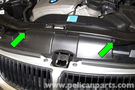 how make cars 2005 bmw z4 spare parts catalogs bmw e90 drive belt replacement e91 e92 e93 pelican parts diy maintenance article