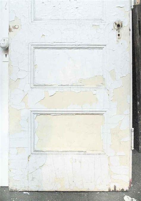 recessed panel doors five horizontal recessed panel oak white door olde good