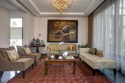 desain interior ruang tamu mewah  rumah klasik arsitag
